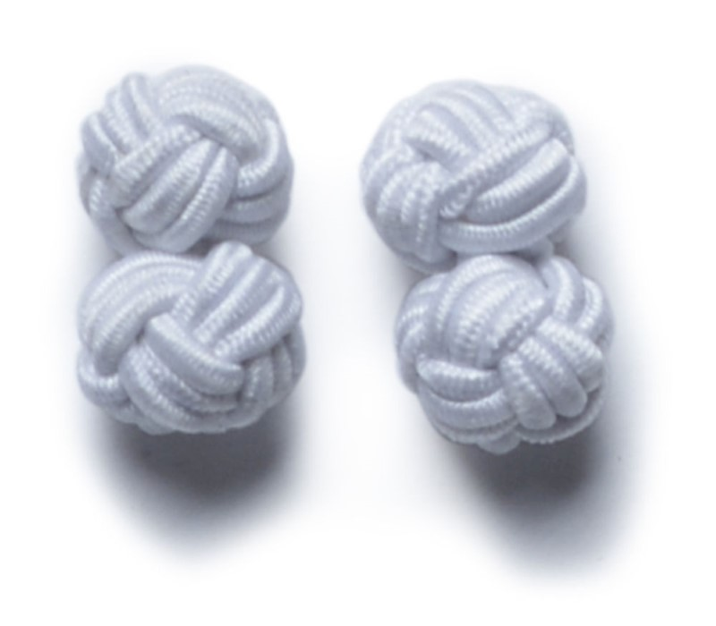 Cufflinks White ONE