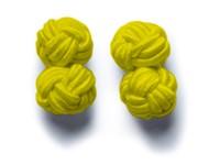 Cufflinks Yellow ONE