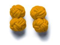 Cufflinks Orange ONE