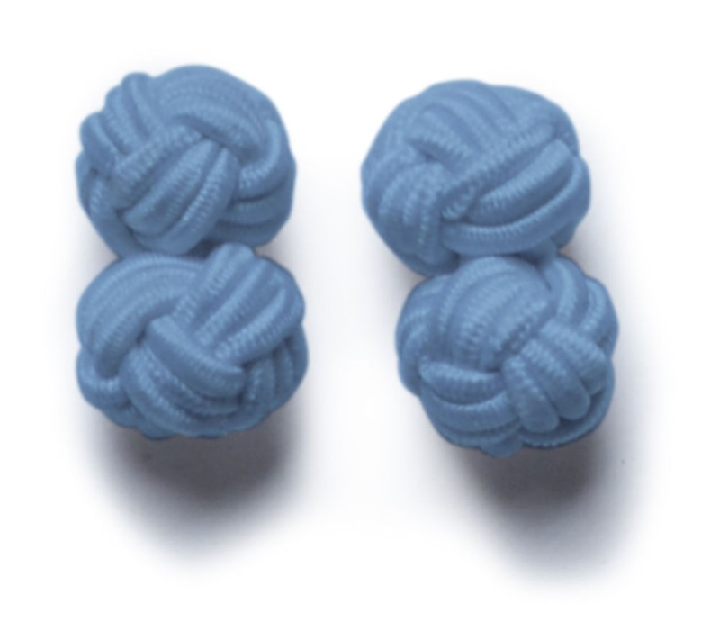 Cufflinks Lightblue ONE