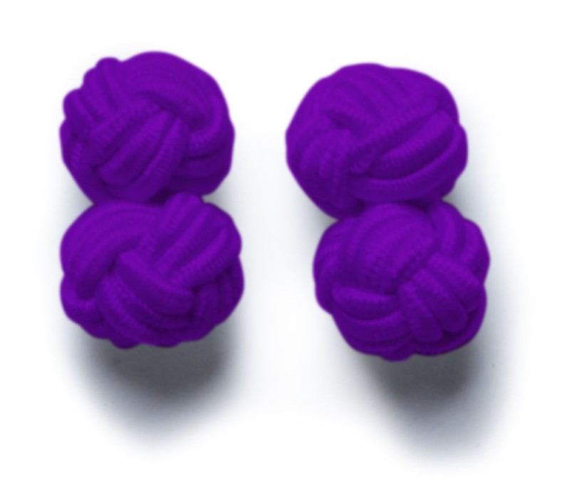 Cufflinks Purple ONE