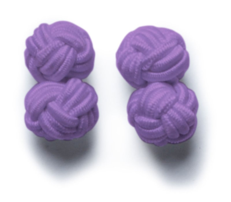 Cufflinks Lightpurple ONE