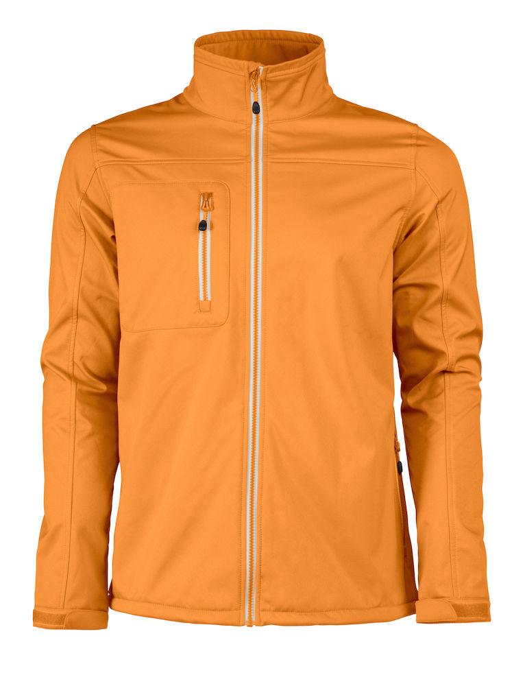 Printer Vert Softshell Jacket Bright orang XXL