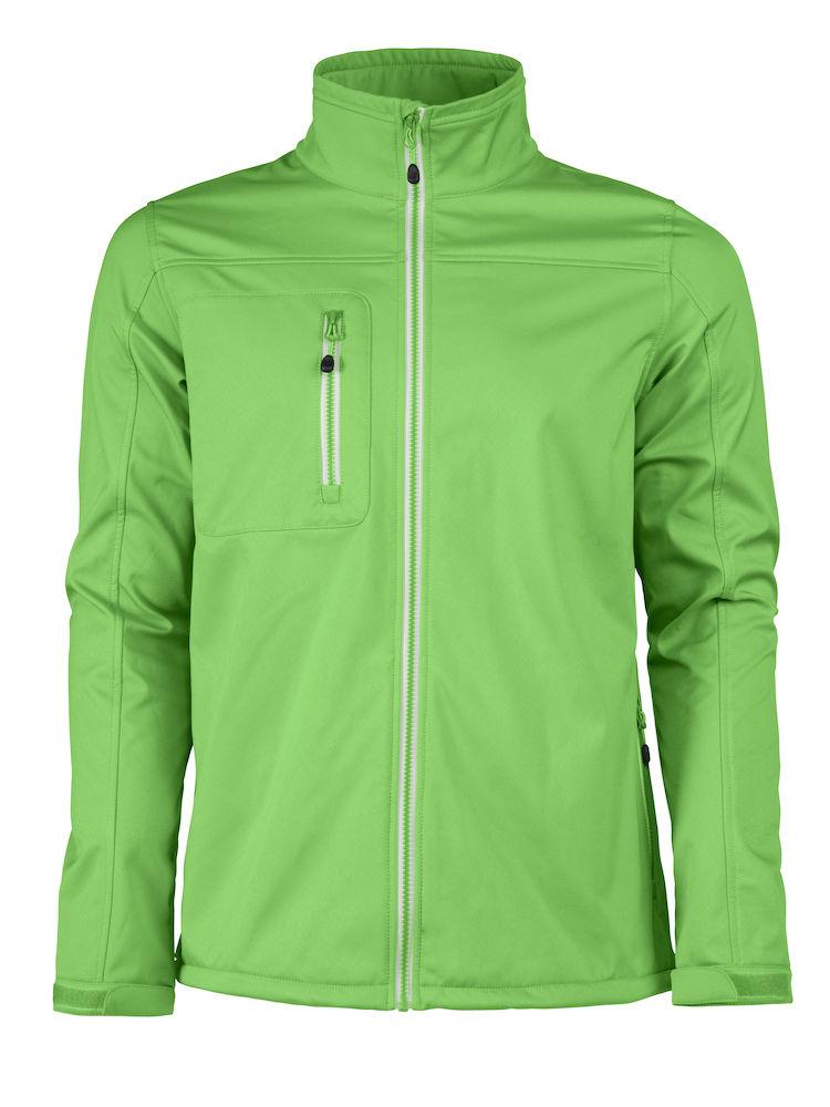 Printer Vert Softshell Jacket Lime M