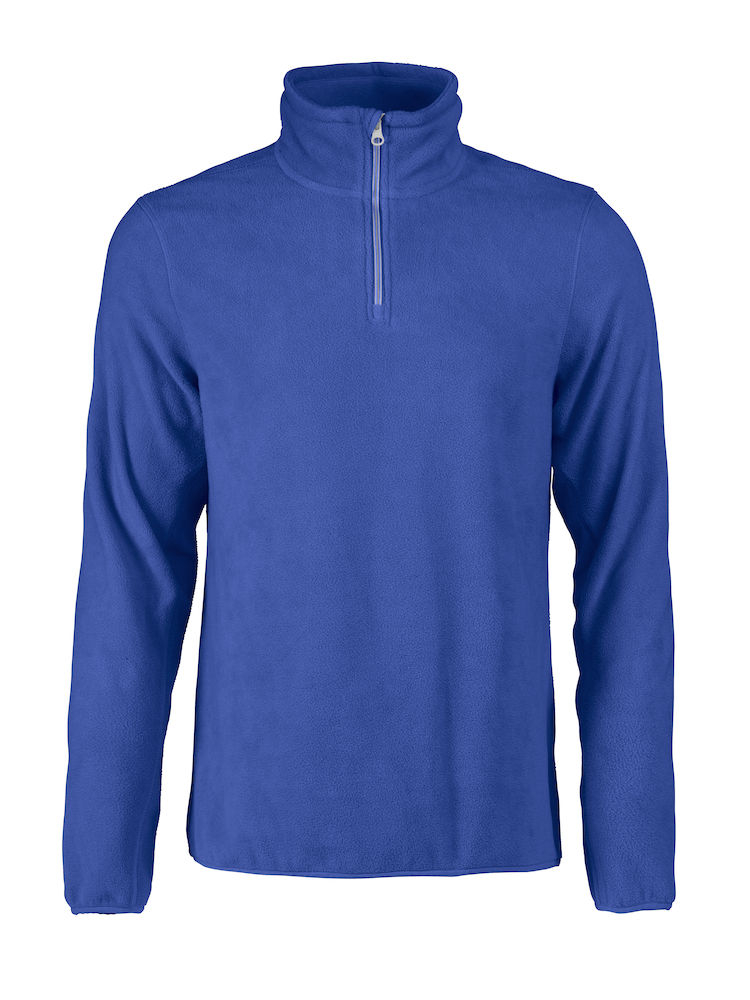 Printer Frontflip Fleece Halfzip Blue 4XL
