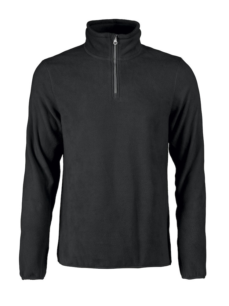 Printer Frontflip Fleece Halfzip Black XL