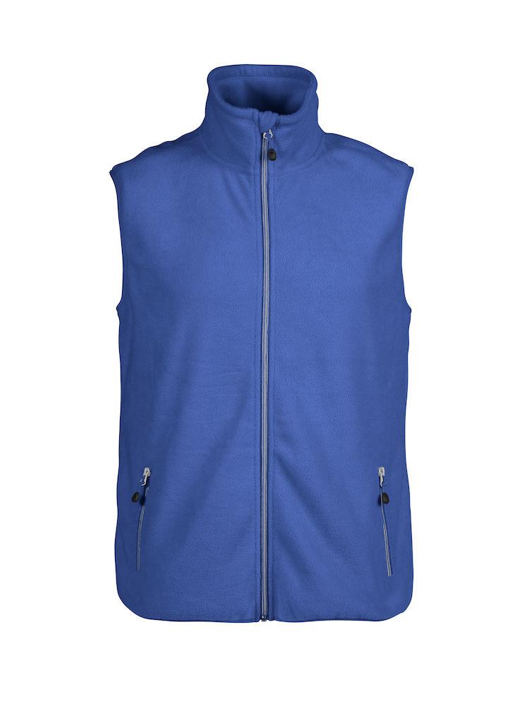 Printer Sideflip Fleece Vest Blue 5XL