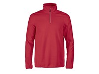 Printer Railwalk Fleece halfzip Red L