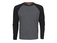 Alex T-shirt Grey melange/black XS