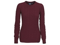 Treadville Lady Pullover Burgundy Red XL