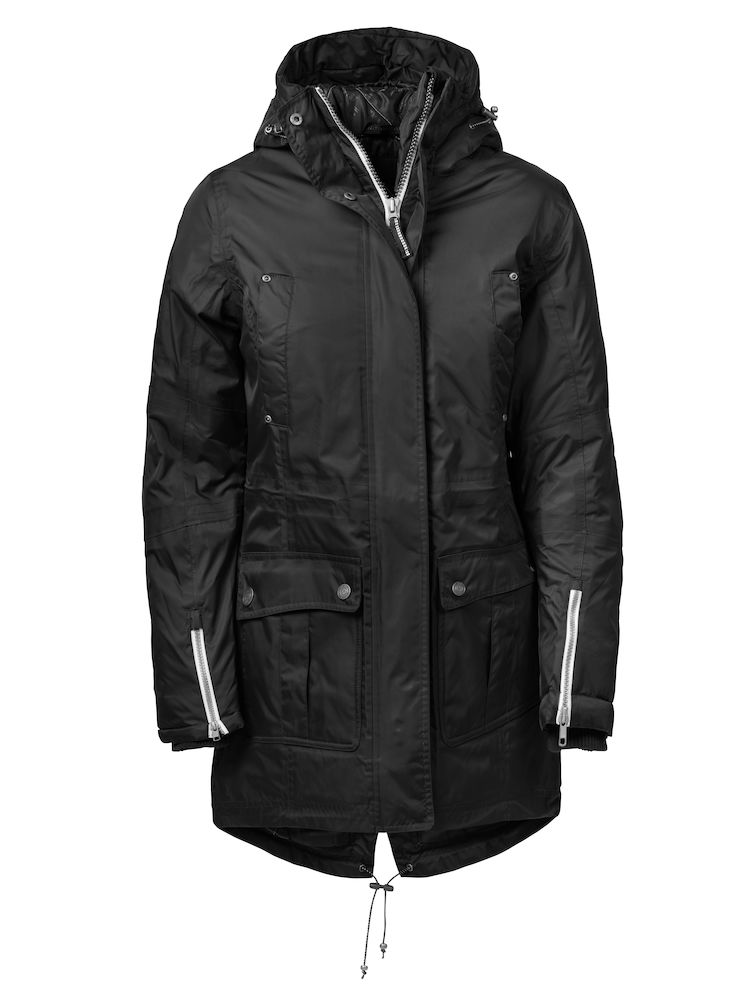 Harvest West Lake Lady Parka Black L