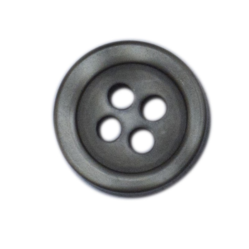 Shirt Button Large 10-pack steelgrey
