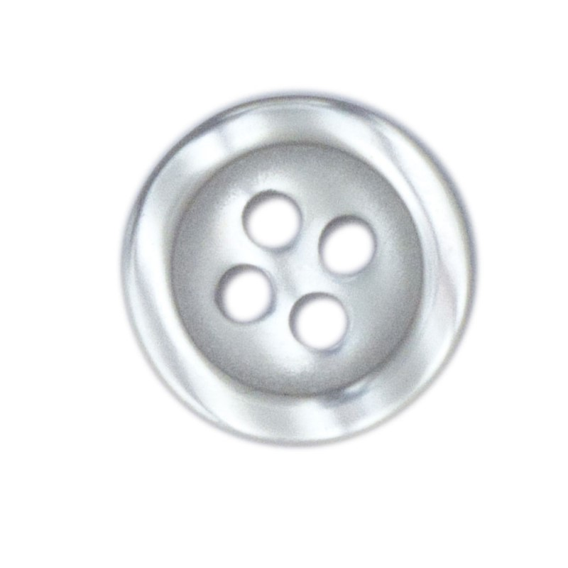 Shirt Button Small 10-pack white
