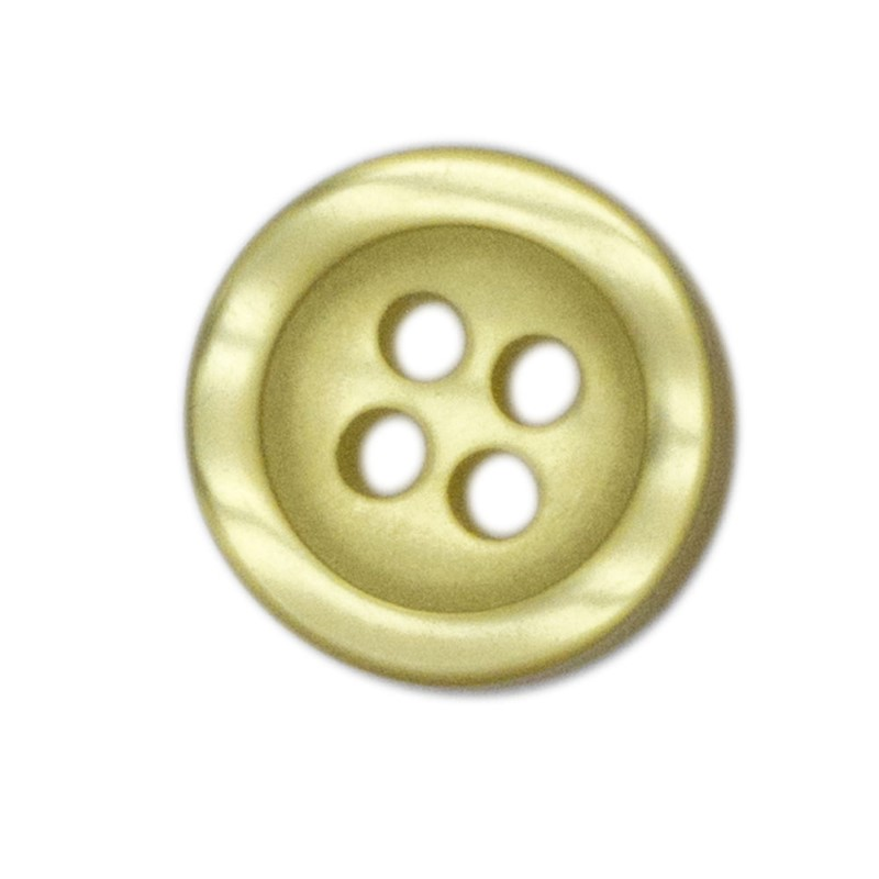 Shirt Button Small 10-pack yellow