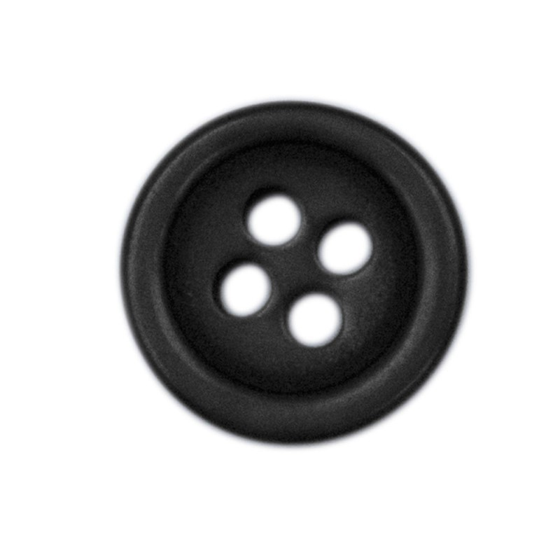 Shirt Button Small 10-pack black
