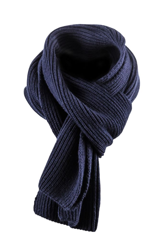 Harvest Easthope Ribscarf Navy