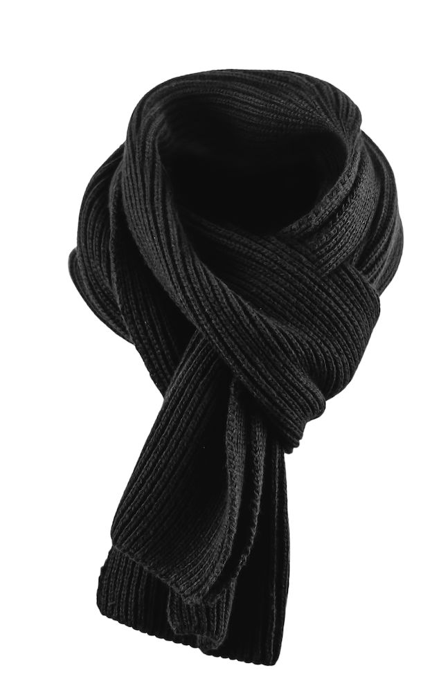 Harvest Easthope Ribscarf Black