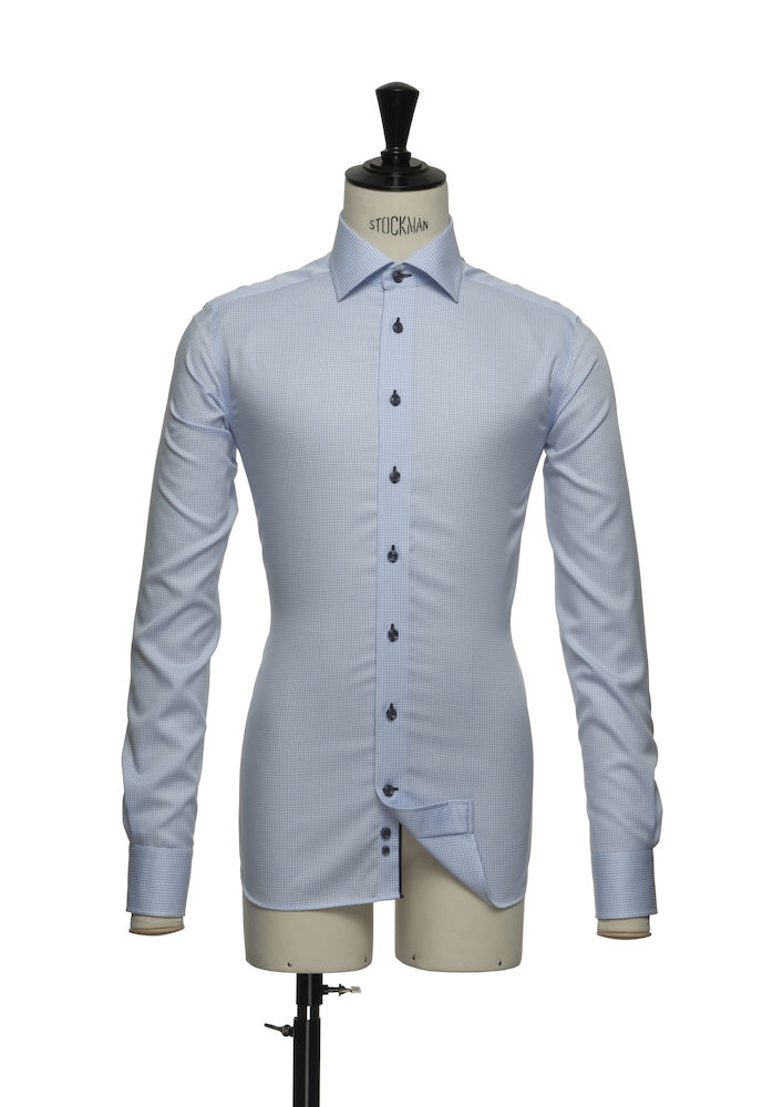 Red Bow 21 Slim fit Skyblue chec S