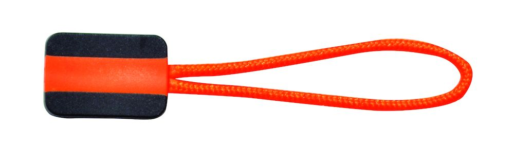 Printer Zipper puller 4-pack hivis orange