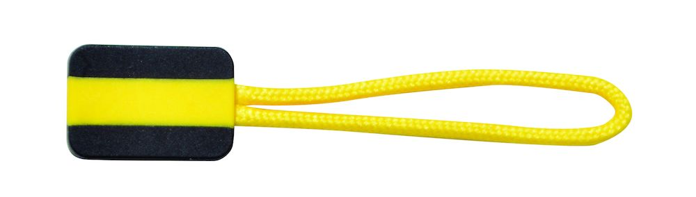 Printer Zipper puller 4-pack Yellow