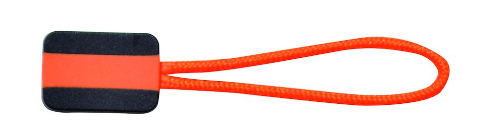 Printer Zipper puller 4-pack Orange