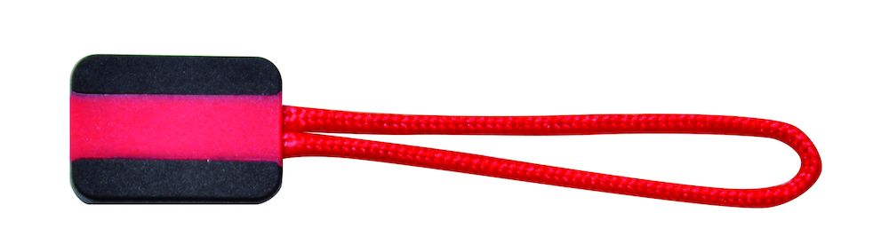 Printer Zipper puller 4-pack Red