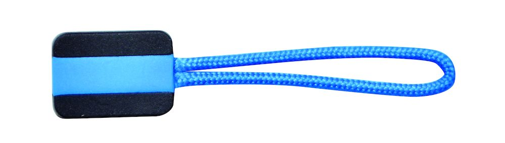 Printer Zipper puller 4-pack Ocean blue