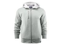 Parkwick Hooded Men Jacket Greymelange XXL