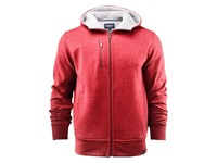 Parkwick Hooded Men Jacket Red Melange 3XL