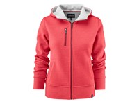 Parkwick Hooded Lady Jacket Red Melange M