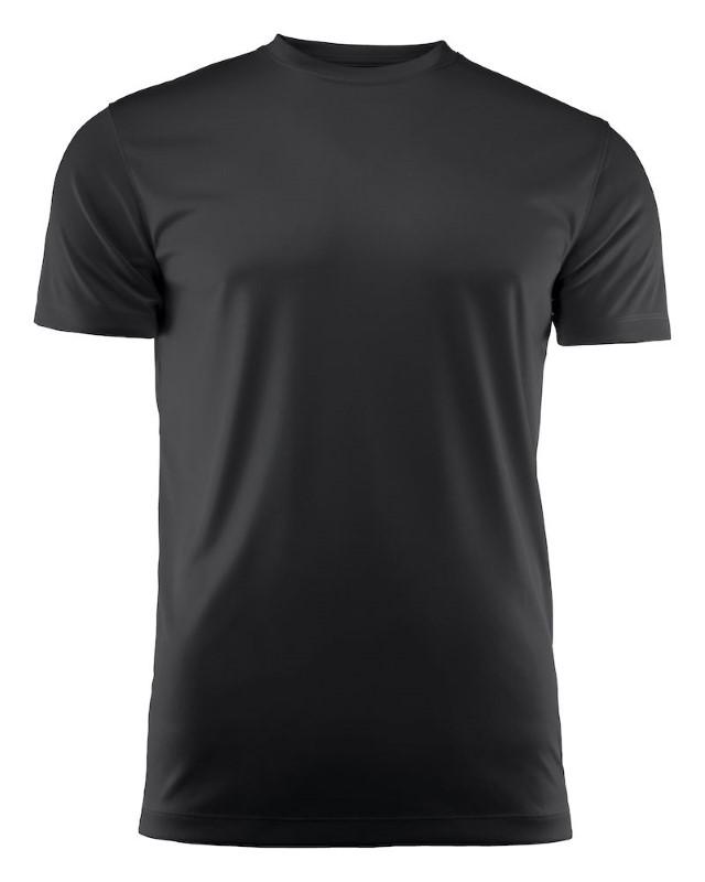 Run Active t-shirt Black 4XL