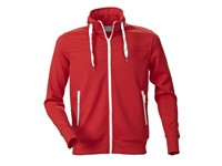Printer Jog Sporty Sweatshirt Red XL