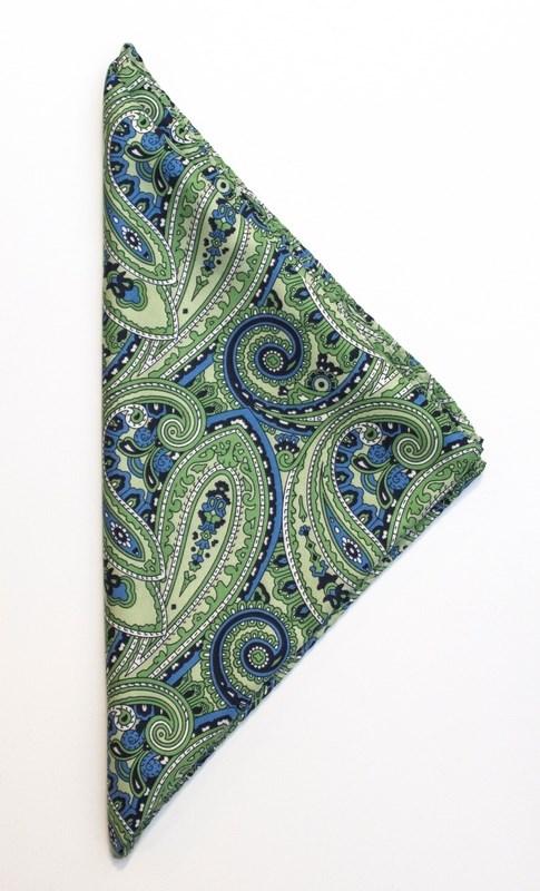 J. Harvest & Frost Handkerchief Paisley