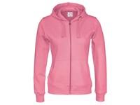 Cottover Full Zip Hood Lady roze XXL