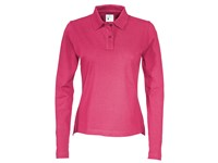 Cottover Pique Long Sleeve Lady fuchsia M