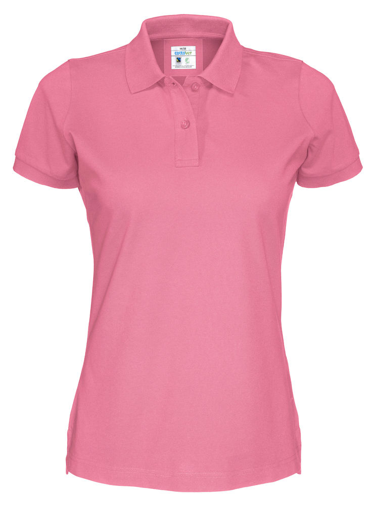 Cottover Pique SS Lady roze S
