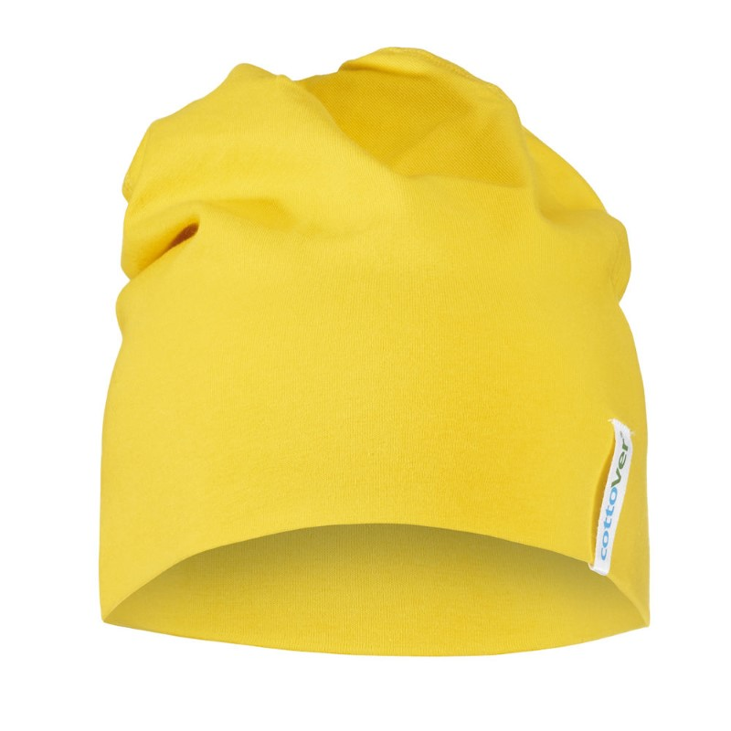Cottover BEANIE geel NO SIZE