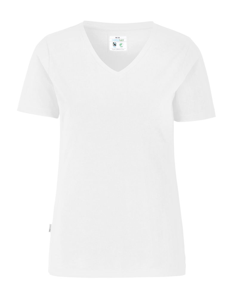 Cottover Stretch T-shirt Lady wit XL
