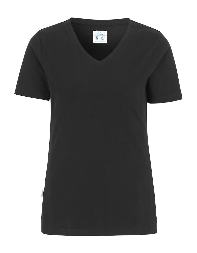Cottover Stretch T-shirt Lady zwart M