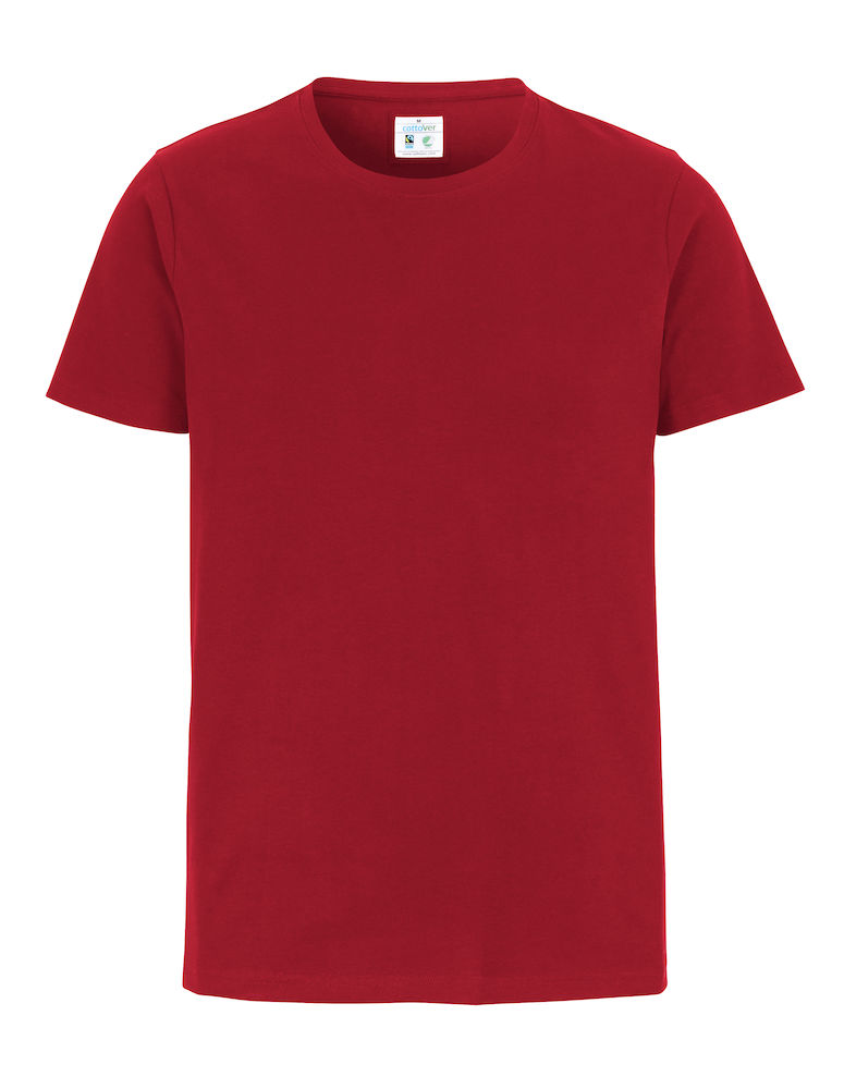 Cottover Stretch T-shirt Man rood XL