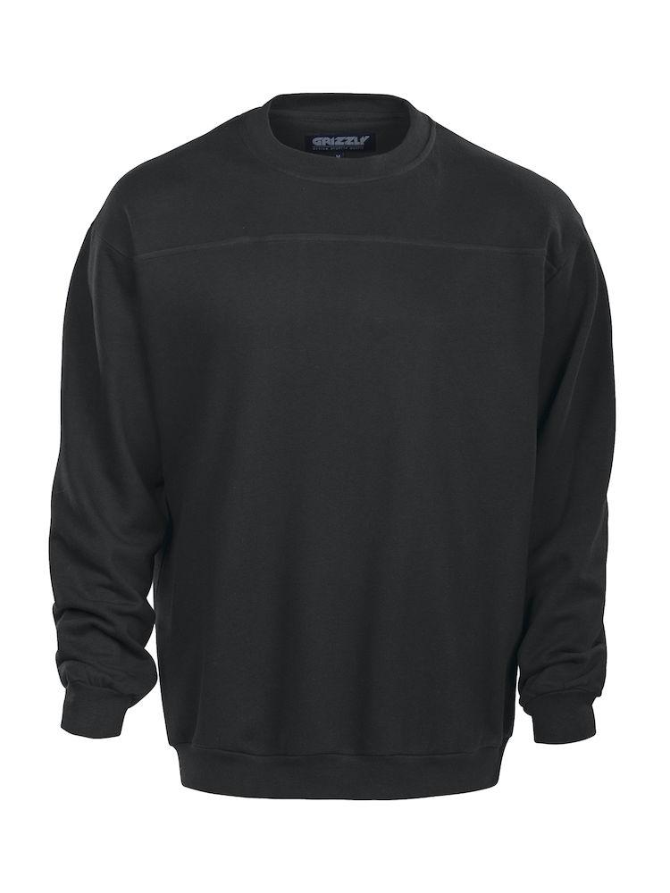 Grizzly First Base Sweatshirt zwart M