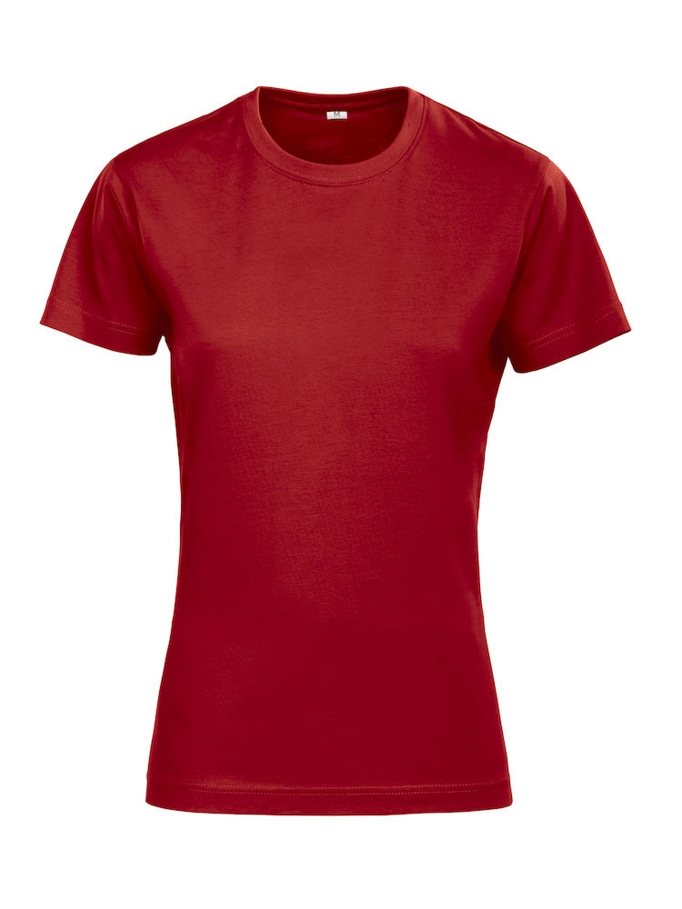 Grizzly Rock T Lady rood 3XL