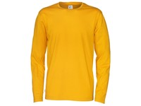 Cottover T-shirt Long Sleeve Man geel XL