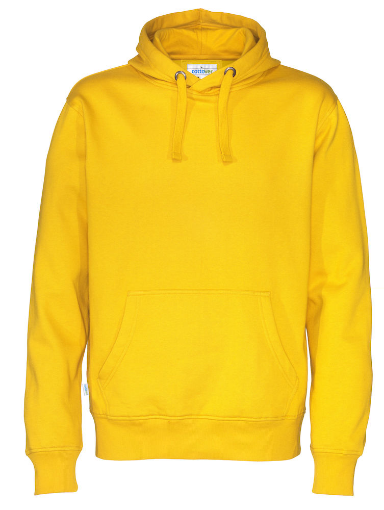 Cottover Hood Man geel XXL