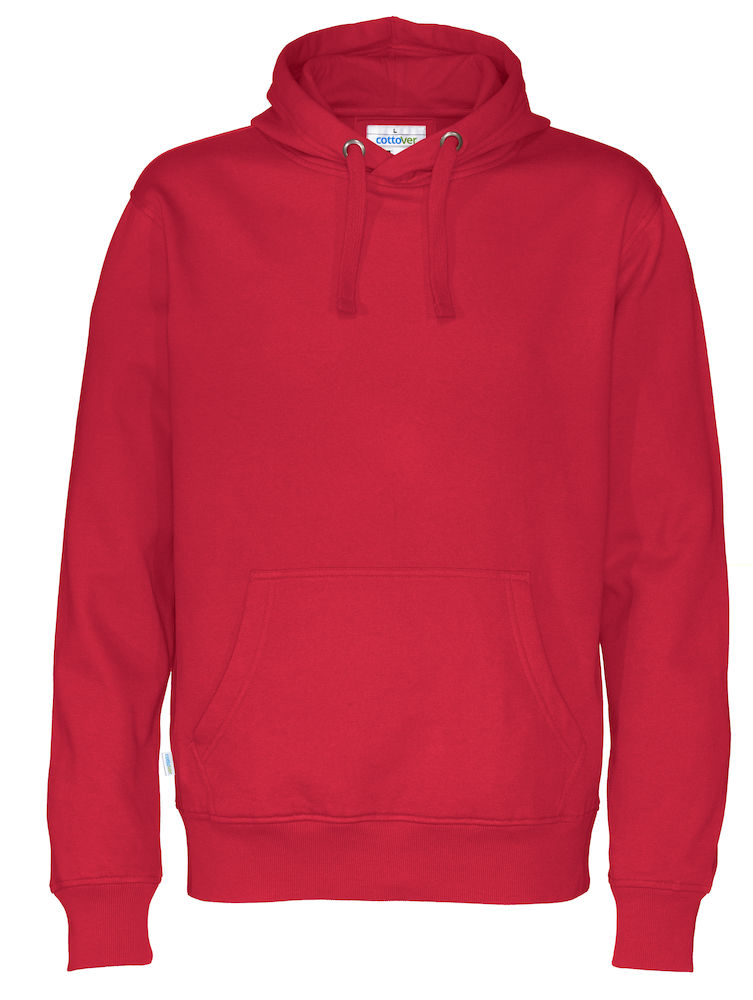 Cottover Hood Man rood 4XL