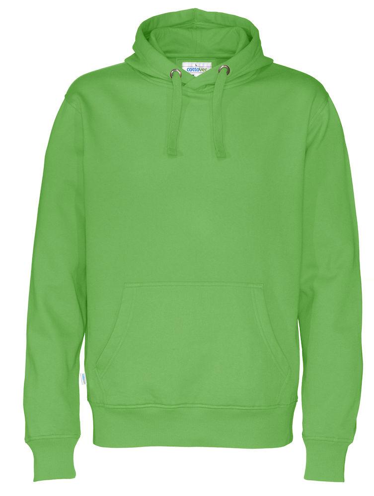 Cottover Hood Man groen M