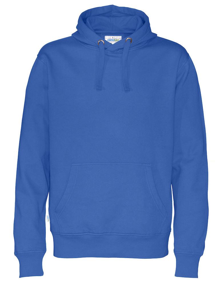 Cottover Hood Man blauw 4XL