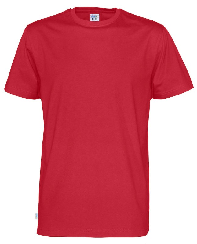 Cottover T-shirt SS Man rood M