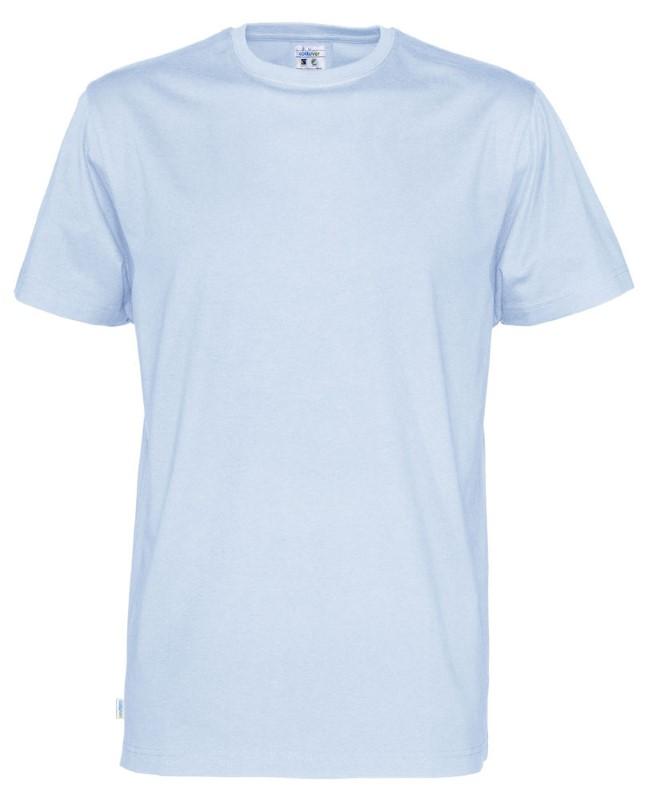 Cottover T-shirt SS Man lichtblauw XL