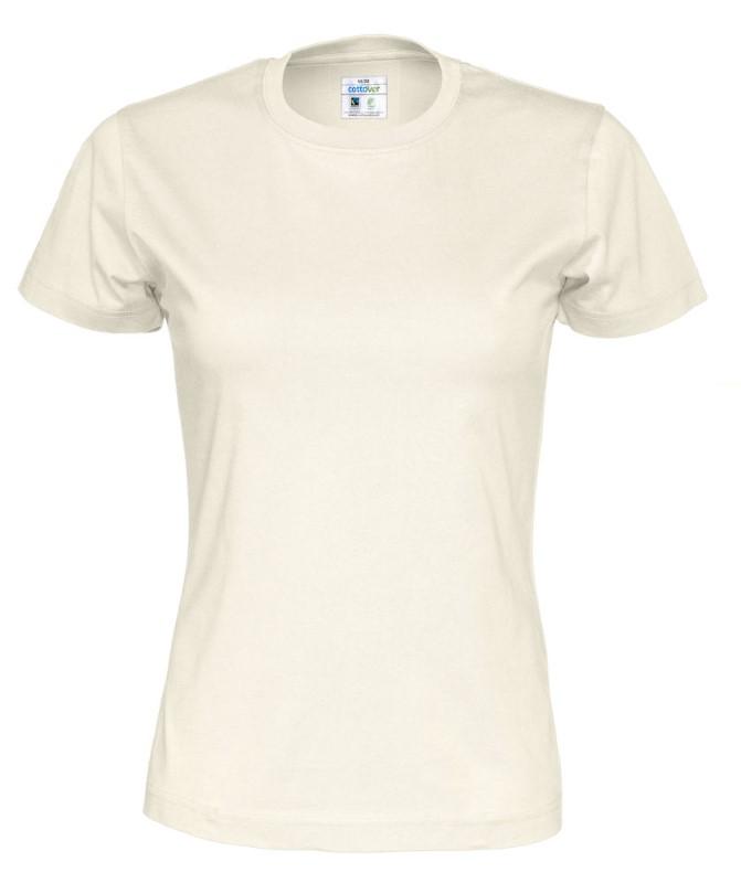 Cottover T-shirt Lady ecru XXL